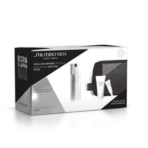 Shiseido Men Total Revitalizer Light Fluid Pouch Set - Shiseido MEN, Hombre