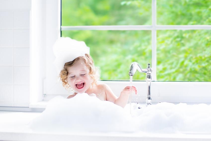Baño-niña
