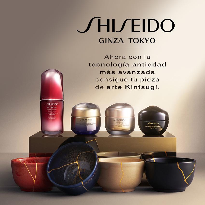 Shiseido Ginza Tokyo. Ahora con la tecnología antiedad más avanzada consigue tu pieza de arte Kintsugi